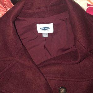 Women Old Navy XL pea coat